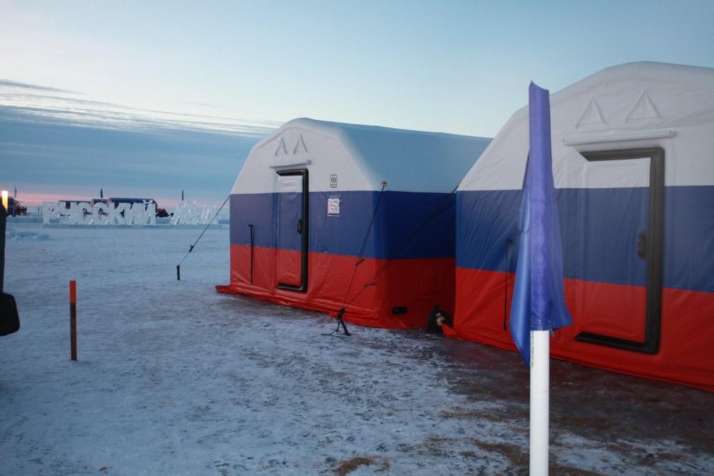 Комплекс пневмопалаток Фрегат на Всероссийской практической конференции «Арктика – территория безопасности» - «Русский лёд».