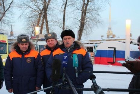 Губернатор г. Санкт-Петербурга Полтавченко Георгий Сергеевич высоко оценил качество работы сотрудников МЧС.