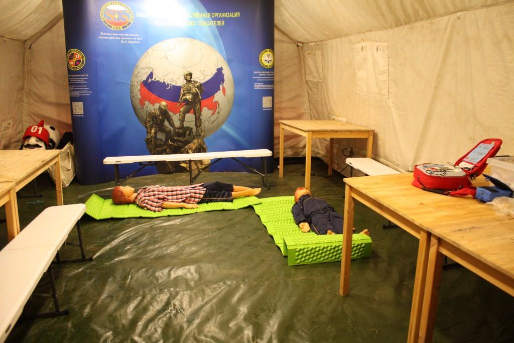 пневмокаркасная палатка 8